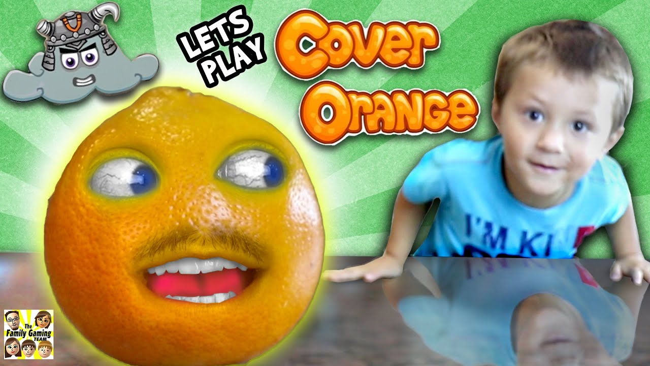 Chase & the Orange whos Annoying! (FGTEEV GAMEPLAY  SKIT with COVER ORANGE iOS Game)