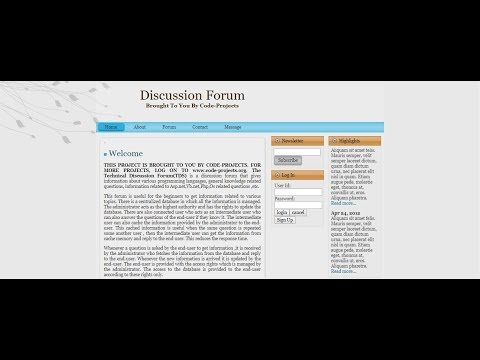 ONLINE DISCUSSION FORUM SITE USING PHP | Source Code & Projects