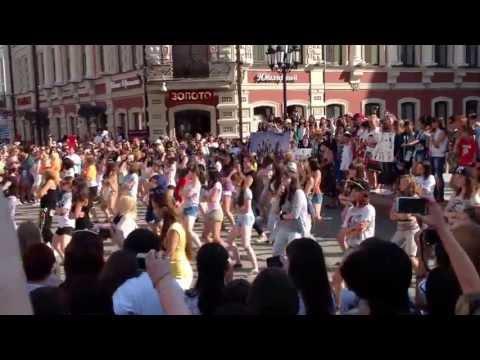 K-pop flashmob (Kazan) 16.07.2013