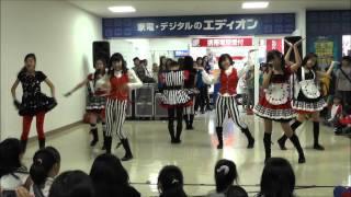 2013年5月26日@エディオン ベルファ都島店 安福美麗、松永玲奈、金沢咲...