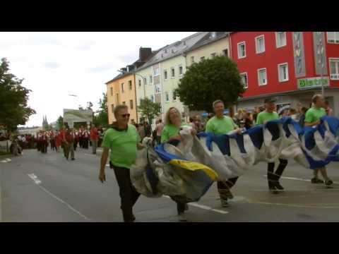Hofer Volksfestumzug 2017 + Anstich