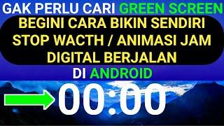 Cara Membuat Stop Watch Atau Animasi Jam Digital Berjalan Di Android