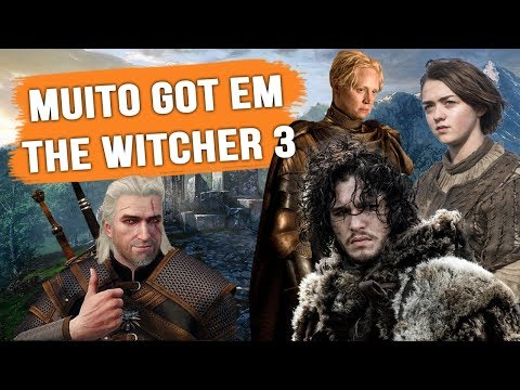 TODOS EASTER EGGS DE GAME OF THRONES EM THE WITCHER 3! thumbnail