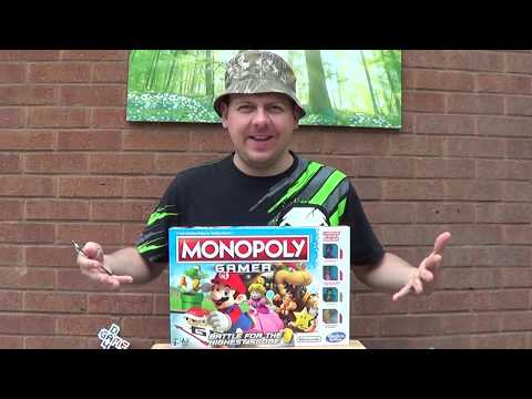 Monopoly Gamer Unboxing
