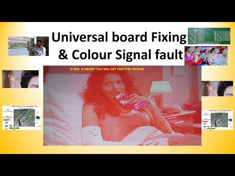 LVDS SIGNAL , LVDS CABLE MATCHING & PANEL MATHING IN UNIVERSAL BOARD Part 2