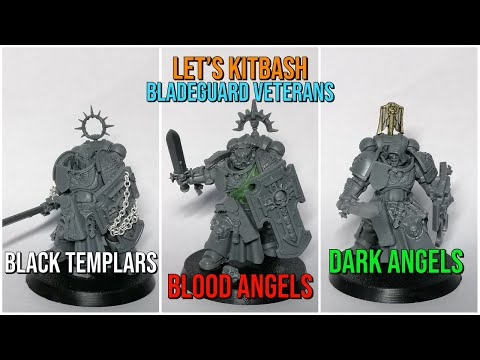 How to Kitbash Bladeguard Veterans | Three Different Chapters!