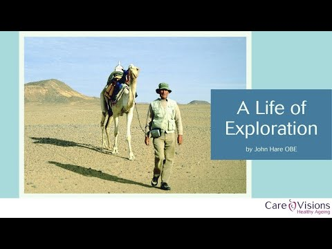 A Life of Exploration with John Hare OBE
