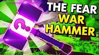 CAN WE MAKE THE FEAR WAR HAMMER IN MY BLACKSMITH SHOP?! (My Little Blacksmith Shop Funny Moments)