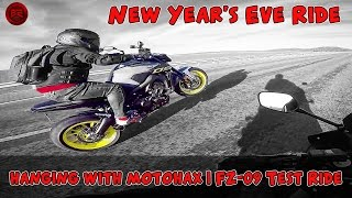 Instant Ramen #9 - New Year's Eve and FZ09 Test Ride