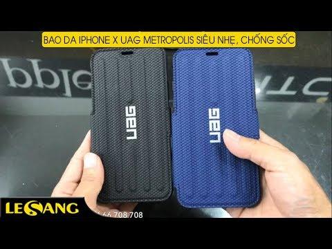 info for bcebb bfd0a LÊ SANG | Bao da iPhone X / iPhone XS UAG Metropolis siêu nhẹ, chống sốc  tốt nhất từ Mỹ