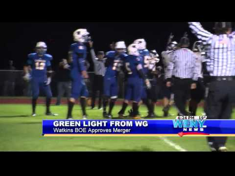 Watkins Glen Approves Football Merger