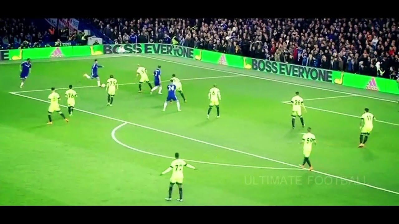 Gary Cahill Cool Goal Chelsea 3-1 Manchester City FA Cup