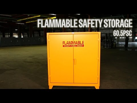 Strong Hold Products Industrial Flammable Safety Storage 5psc