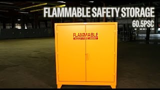 Strong Hold Products Industrial Flammable Safety Storage (60.5PSC)