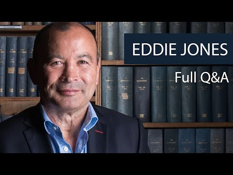 Eddie Jones  Full Q&A at Oxford Union