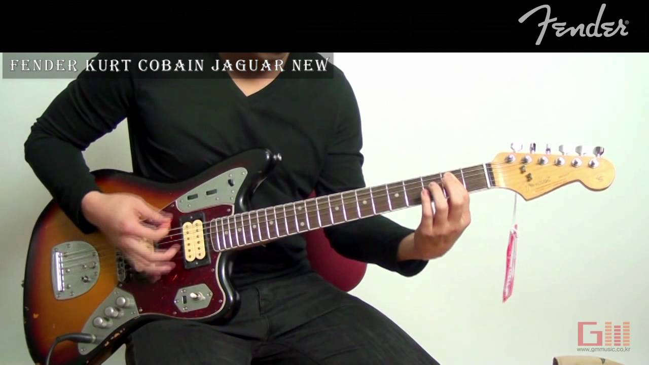 gmmusic fender kurt cobain jaguar new youtube. Black Bedroom Furniture Sets. Home Design Ideas