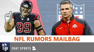 Nfl rumors are already swirling around 2021 free agency, jj watt, and urban meyer. today's headlines in this mailbag feature teams like the houston t...
