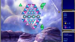 Hyperballoid 2: Time Rider gameplay, Planets World Level 1 / Гиперболоид 2
