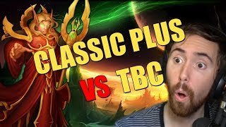 Asmongold Reacts To WoW Classic Plus Versus The Burning Crusade - MadSeasonShow
