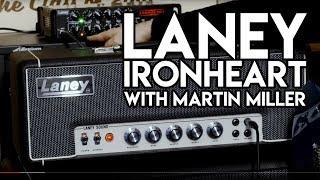 Laney Ironheart IRT STUDIO with Martin Miller | SpectreSoundStudios #TGU18