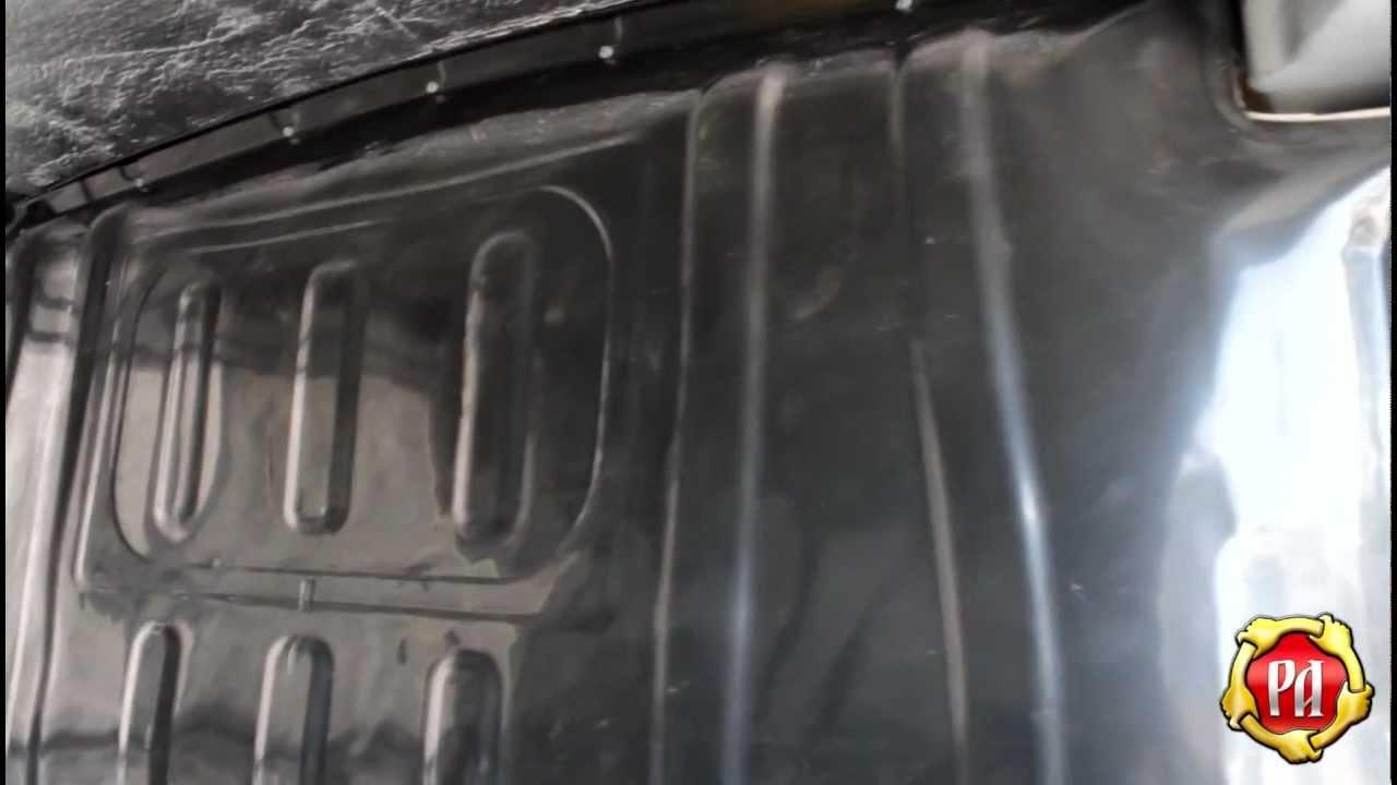 Лада Гранта защита порогов дверей (russ-artel.ru) - YouTube