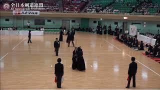 KANAGAWA vs KAGOSHIMA 10th All Japan Interprefecture Ladies KENDO Championship 2018 2nd Round