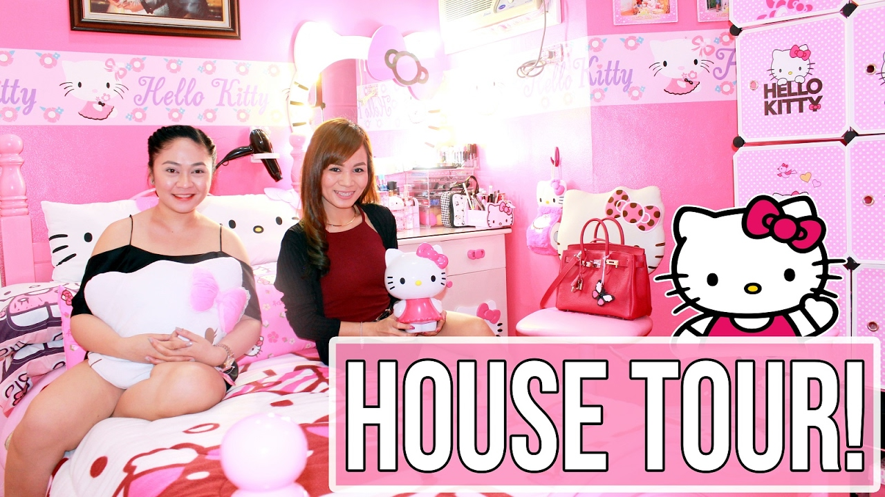 Hello Kitty House hello kitty house tour + hello kitty collection!! (every girl's