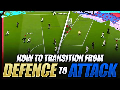 FIFA 20 HOW TO TRANSITION FROM DEFENCE TO ATTACK | FIFA 20 ATTACKING TIPS | HOW TO SCORE MORE GOALS