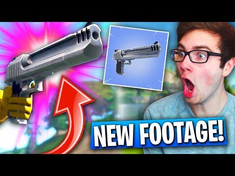 *NEW* HAND CANNON FOOTAGE In Fortnite: Battle Royale! (Season 3 Update)