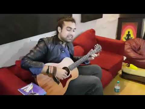 Akh Lad Jaave Acoustic Version LIVE Jubin Nautiyal