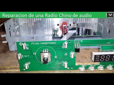 Reparacion de una Radio Chino