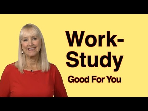 """""""Work-Study"""" Equals Money for Student Work!"""