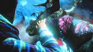 Until Dawn Kill The Deer Or Comfort The Deer? Make Your Choice! (interactive Video)