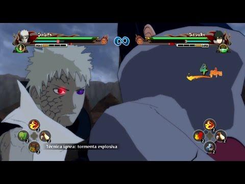 Obito Jinchuuriki Vs Ultimate Rinnegan Sasuke (Mods) - Naruto Storm Revolution 【HD】 |