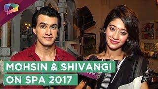Mohsin Khan And Shivangi Joshi Talk About Their Performances At Star Parivaar Awards 2017
