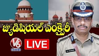 Disha Case Encounter  Updates LIVE || Supreme Court Hearing LIVE || V6 Telugu News