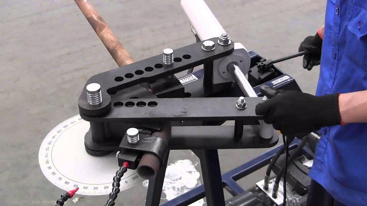 Bolton Tools - HTB 1000 - Pipe Tube Bender Model - YouTube