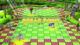SEGA Superstars Tennis: Sonic & Amy vs Shadow & Dr. Eggman (Super Monkey Ball Court) [1080 HD]
