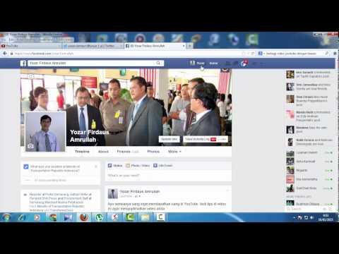 Tutorial Cara Mempromosikan Video YouTube ke Twitter, FaceBook dan Kaskus (Social Media Lain)