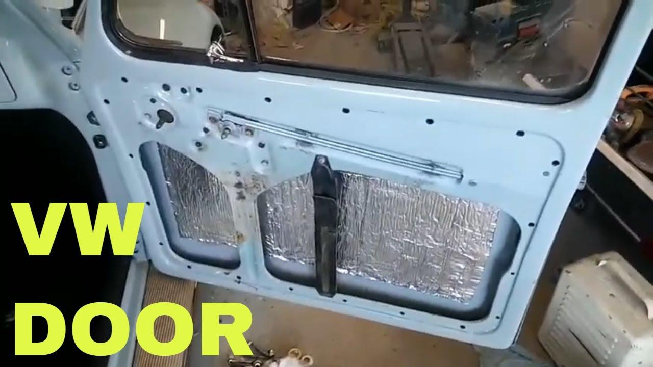 Vw Door Panels And Door Latch Youtube