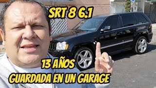 cherokee srt8 2006 13 años guardada en un garage