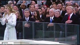 HD Jackie Evancho - National Anthem (SINGING LIVE) on President Donald Trump