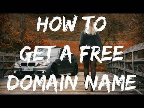 HOW TO GET A FREE DOMAIN NAME 2020 (WORKING) 💸