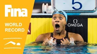 Alia Atkinson | World Record 100m Breaststroke | 2014 FINA World Swimming Championships Doha