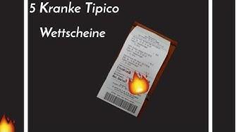 5 Kranke Tipico Wettscheine