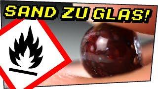Wir machen uns GLAS mit dem SCHWEIßBRENNER! - Gefährliche Experimente #111