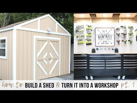 Shed-Shop Series (Ep. 1): Introduction & How To Build A Shed Floor