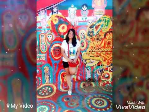 Jhona in the Rainbow village tour 2016, nantun taichung taiwan