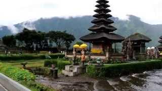 The Pura Ulun Danu Bratan, Bali.