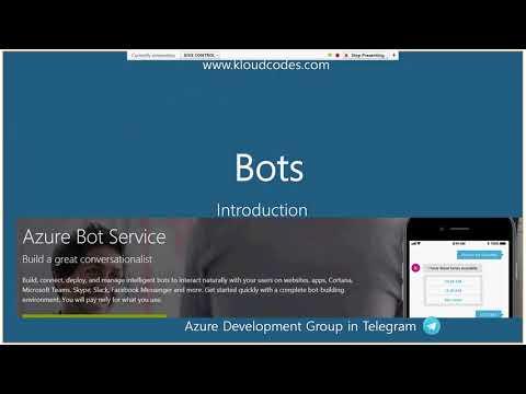 Azure Development Group - Session 20 - Microsoft Artificial Intelligence Platform